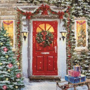 Салфетки Коледа, Зимни